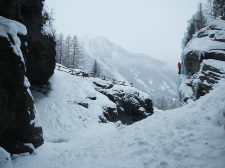 Lillaz frozen waterfalls