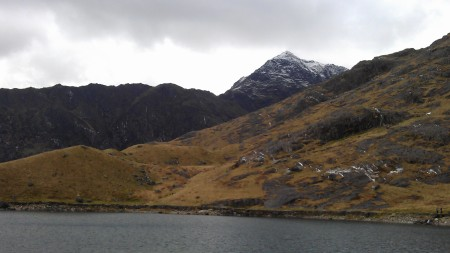 View back to Snowdon