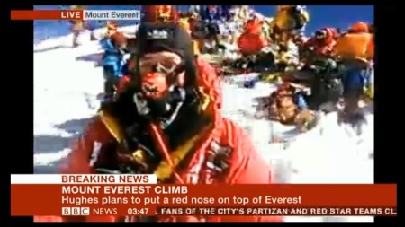 Mount Everest climb - BBC interview